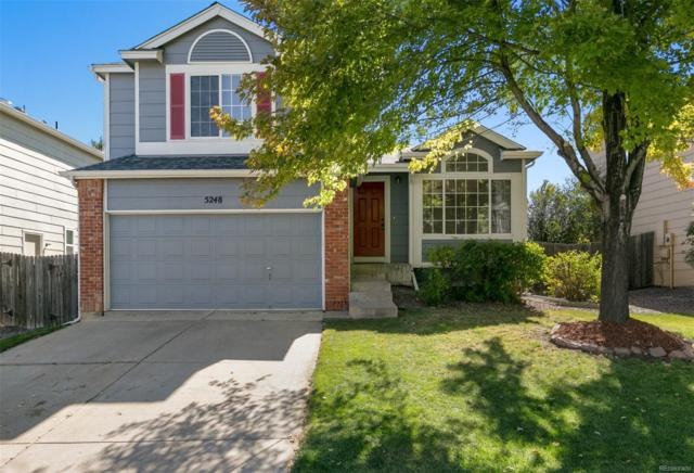 5248 Galena Avenue, Castle Rock, CO 80104 (#4199605) :: The Dixon Group
