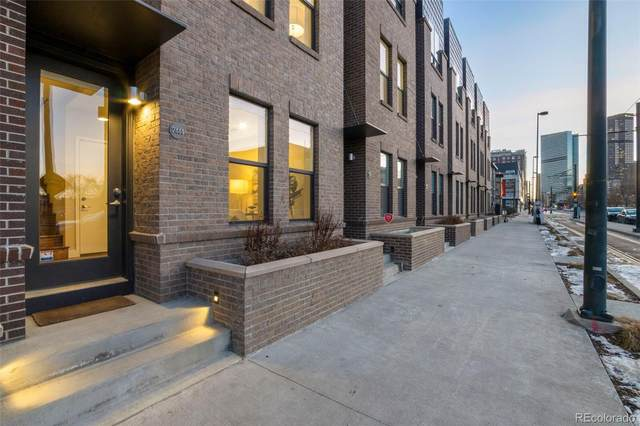 2444 Welton Street Th-12, Denver, CO 80205 (MLS #4208443) :: Neuhaus Real Estate, Inc.