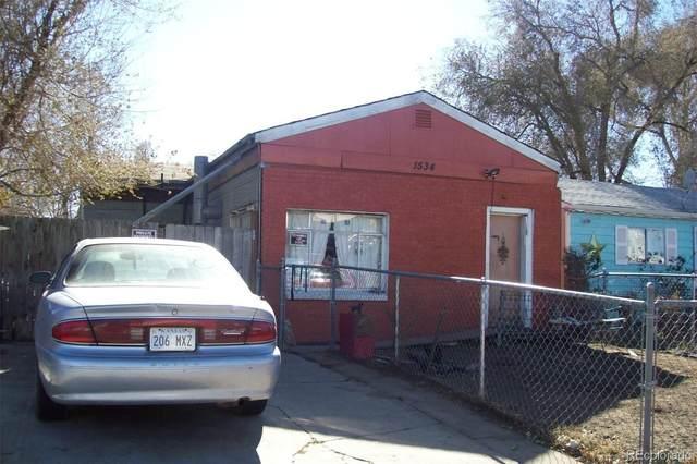 1534 W Bayaud Avenue, Denver, CO 80223 (#4212594) :: The Brokerage Group