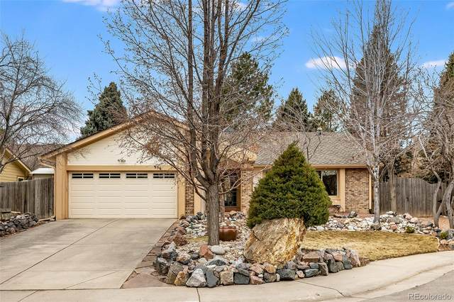 956 E Irish Place, Centennial, CO 80122 (#4218472) :: The Dixon Group