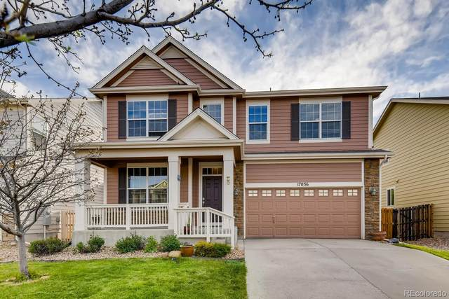 17036 E Trailmaster Drive, Parker, CO 80134 (#4219600) :: The Healey Group