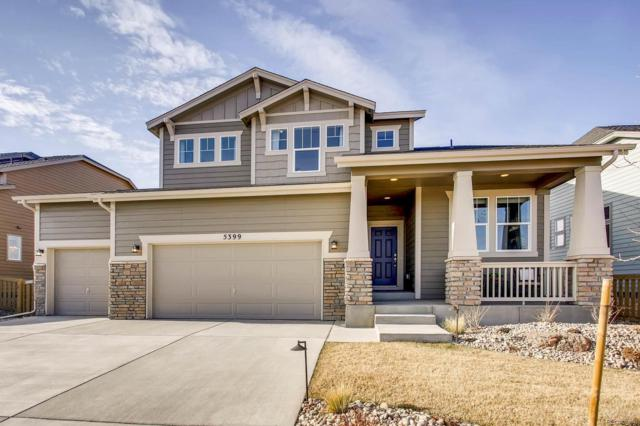 27131 E Frost Place, Aurora, CO 80016 (#4220847) :: The Tamborra Team