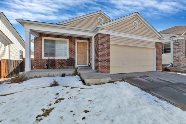15366 E 99th Place, Commerce City, CO 80022 (#4225302) :: The Griffith Home Team