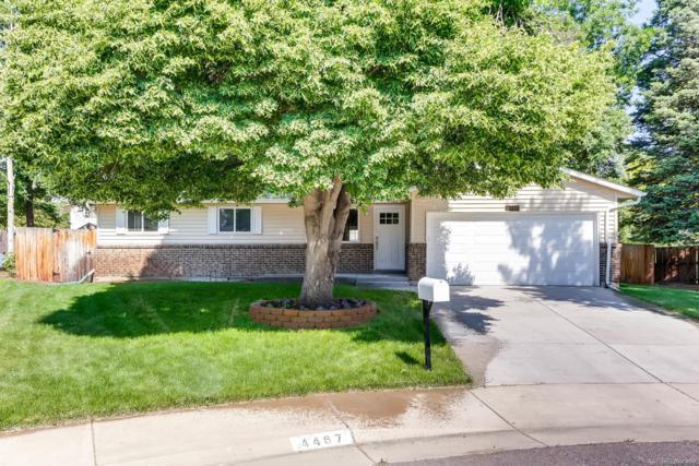 4467 S Everett Court, Littleton, CO 80123 (#4225506) :: The Peak Properties Group