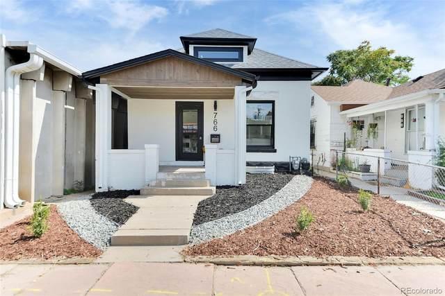 766 Inca Street, Denver, CO 80204 (#4225712) :: Signature Realty, Inc.