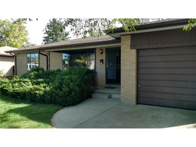 1140 S Ingalls Street, Lakewood, CO 80232 (#4228286) :: The Healey Group