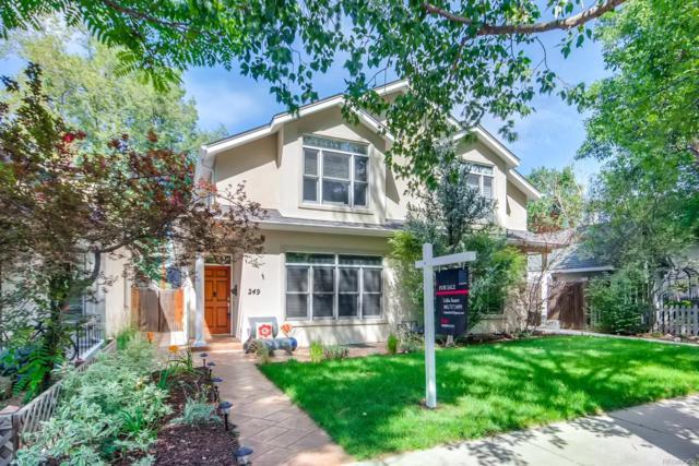 249 S Lafayette Street, Denver, CO 80209 (#4232307) :: Mile High Luxury Real Estate