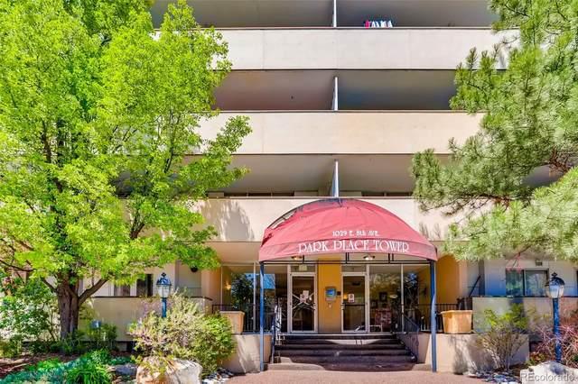1029 E 8th Avenue #706, Denver, CO 80218 (#4233554) :: The Gilbert Group