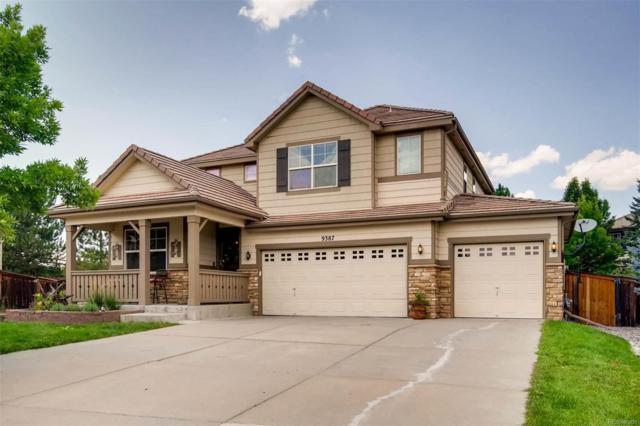 9387 Branham Drive, Parker, CO 80134 (#4236430) :: The Griffith Home Team