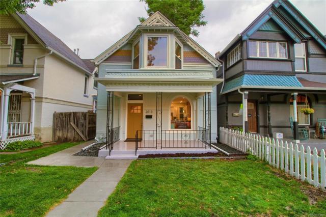 2013 N Ogden Street, Denver, CO 80205 (#4239352) :: Wisdom Real Estate