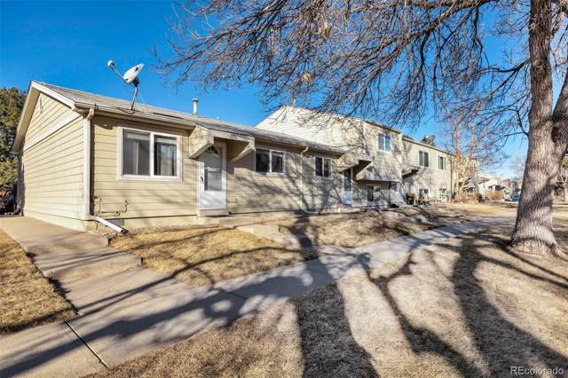 5731 W 92nd Avenue #153, Westminster, CO 80031 (#4239709) :: Bring Home Denver with Keller Williams Downtown Realty LLC