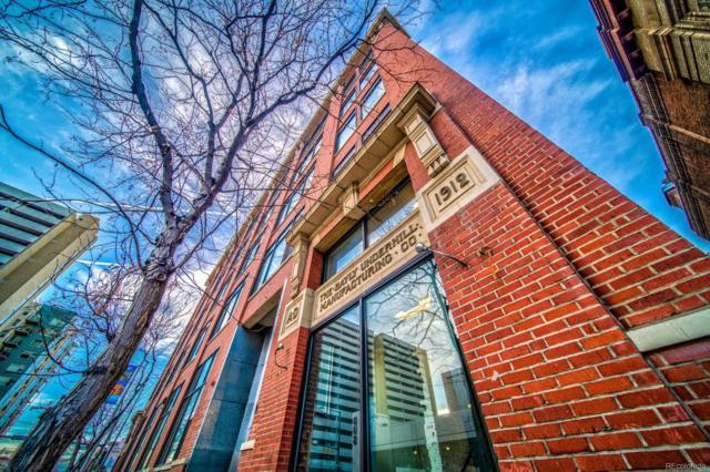 2000 Arapahoe Street #201, Denver, CO 80205 (#4240091) :: The Gilbert Group