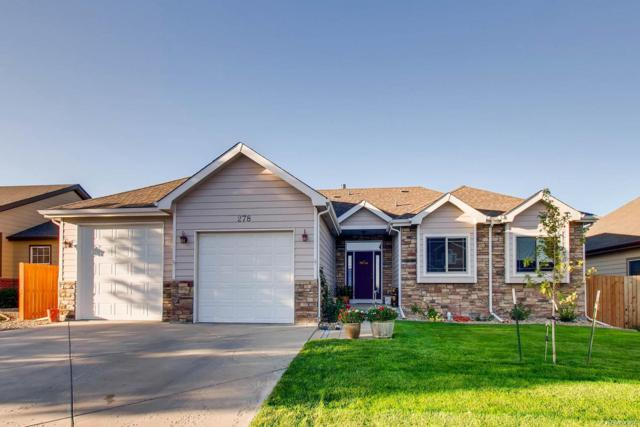 278 Sloan Drive, Johnstown, CO 80534 (#4240907) :: The DeGrood Team