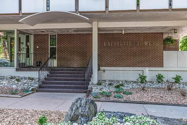 1090 N Lafayette Street #302, Denver, CO 80218 (#4241492) :: Kimberly Austin Properties