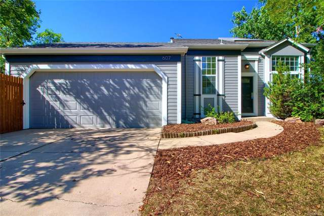 607 W Lucerne Drive, Lafayette, CO 80026 (#4245433) :: The Heyl Group at Keller Williams