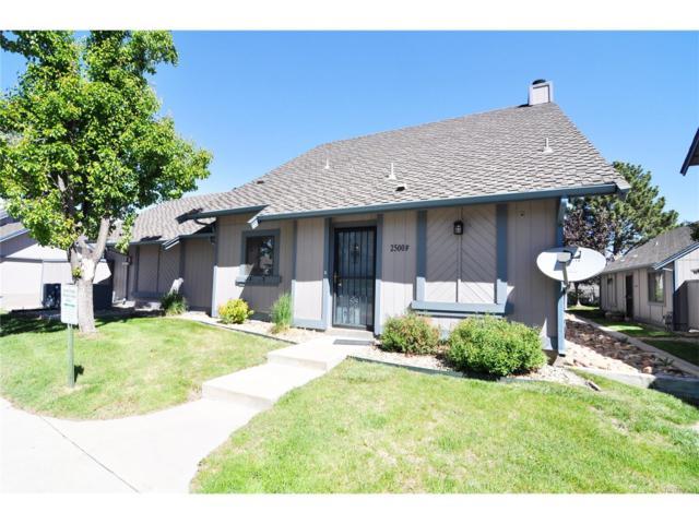 2500 S Victor Street F, Aurora, CO 80014 (MLS #4248455) :: 8z Real Estate