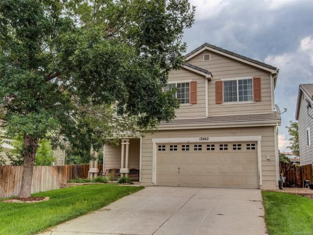 12462 S Bellisario Creek Court, Parker, CO 80134 (#4248902) :: The Pete Cook Home Group