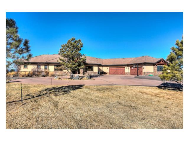 10281 Rancho Montecito Drive, Parker, CO 80138 (MLS #4250727) :: 8z Real Estate