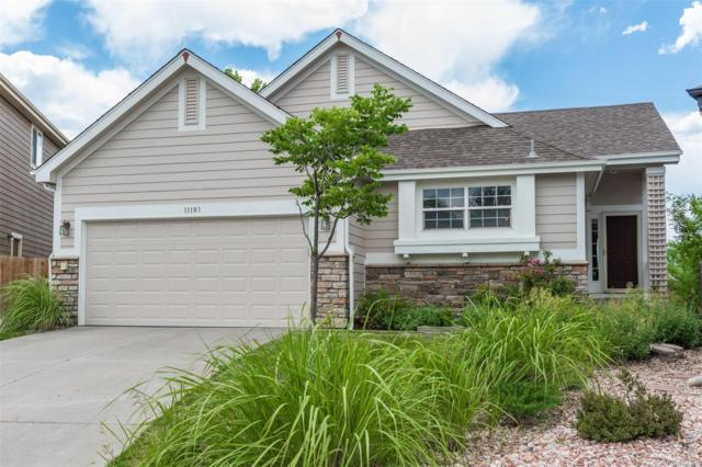 11181 Night Heron Drive, Parker, CO 80134 (#4251566) :: The DeGrood Team
