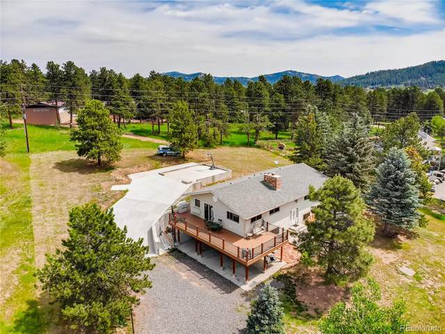 28125 Little Big Horn Drive, Evergreen, CO 80439 (#4252845) :: You 1st Realty