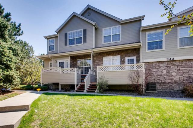 342 W Jamison Place #62, Littleton, CO 80120 (#4253092) :: House Hunters Colorado