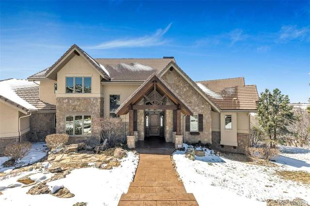 13045 Horizon Trail, Castle Pines, CO 80108 (#4253340) :: Mile High Luxury Real Estate