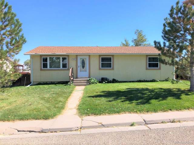 838 O Avenue, Limon, CO 80828 (#4253517) :: The Scott Futa Home Team