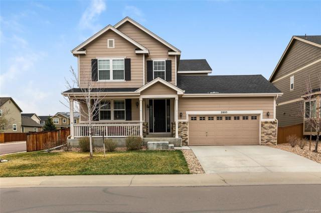 2805 E 141st Place, Thornton, CO 80602 (#4256817) :: House Hunters Colorado