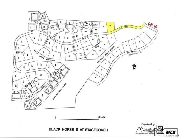 Lot 17 Black Horse II At Stagecoach, Oak Creek, CO 80467 (#4258055) :: The Harling Team @ Homesmart Realty Group