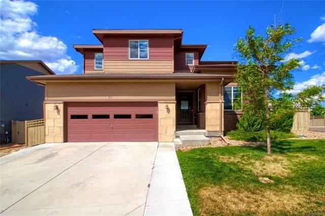 251 Portmeirion Lane, Castle Rock, CO 80104 (#4258873) :: Wisdom Real Estate