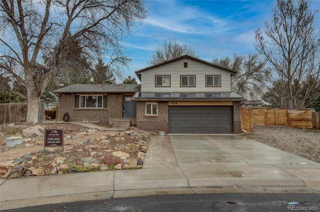 7318 Deframe Court, Arvada, CO 80005 (#4266362) :: The Dixon Group