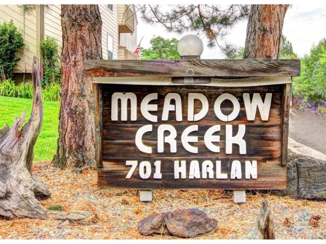 701 Harlan Street #16, Lakewood, CO 80214 (MLS #4266364) :: 8z Real Estate