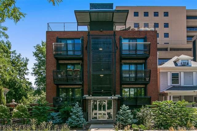 1336 N Logan Street #402, Denver, CO 80203 (#4270509) :: The Gilbert Group