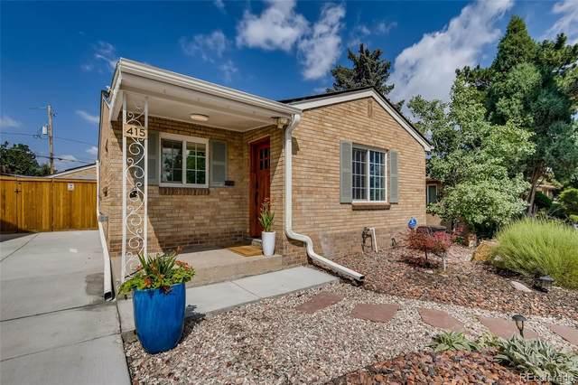415 S Alcott Street, Denver, CO 80219 (#4274069) :: Kimberly Austin Properties