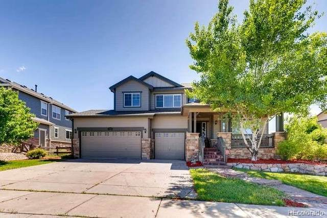 7359 S Muscadine Court, Aurora, CO 80016 (#4277585) :: The Dixon Group