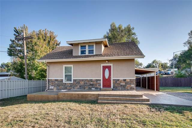 7550 W 34th Avenue, Wheat Ridge, CO 80033 (#4278133) :: The HomeSmiths Team - Keller Williams