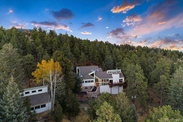 5396 Bear Mountain Drive, Evergreen, CO 80439 (#4279416) :: You 1st Realty