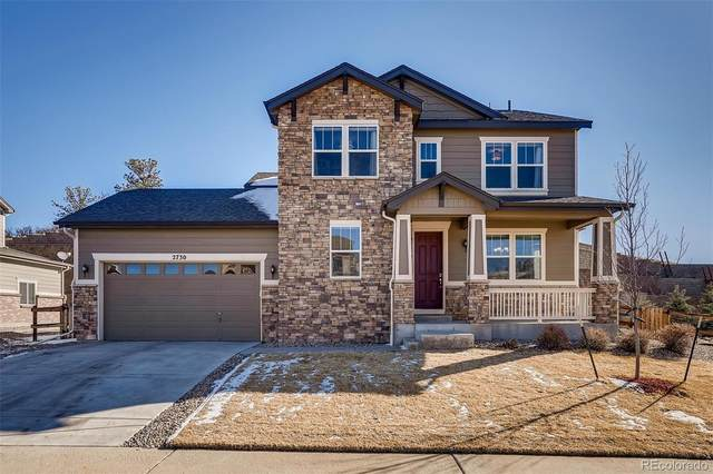 2730 Celtic Drive, Castle Rock, CO 80104 (#4281192) :: Colorado Home Finder Realty