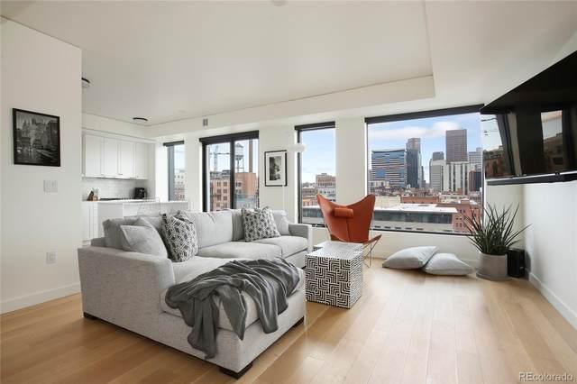 1750 Wewatta Street #830, Denver, CO 80202 (#4285800) :: Bring Home Denver with Keller Williams Downtown Realty LLC
