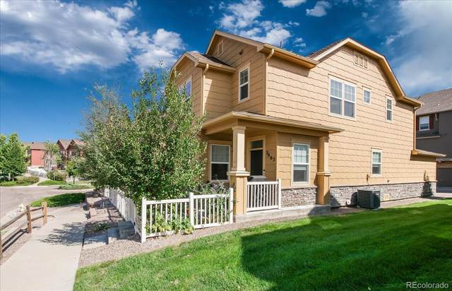 3665 Tranquility Trail, Castle Rock, CO 80109 (#4286705) :: The DeGrood Team
