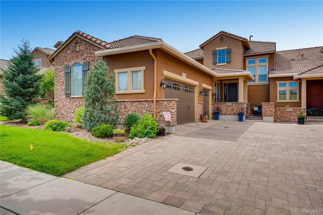 9317 Viaggio Way, Highlands Ranch, CO 80126 (#4293384) :: The Scott Futa Home Team