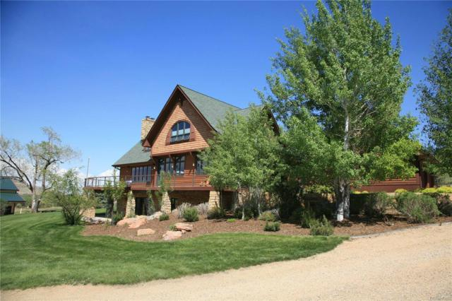 3400 N County Road 25 E, Bellvue, CO 80512 (MLS #4294614) :: Bliss Realty Group