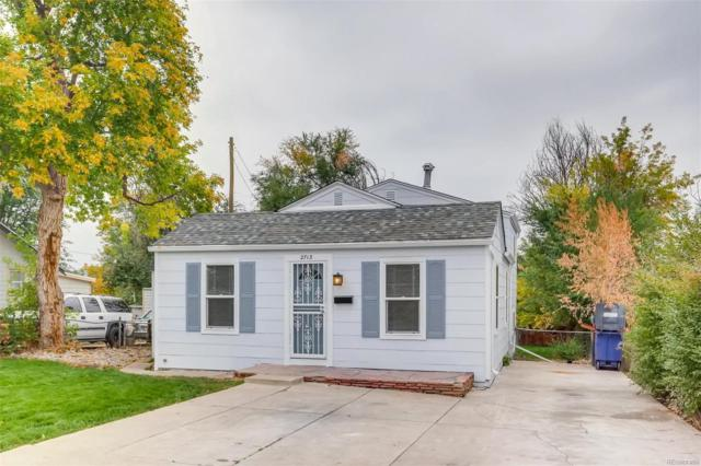 2713 W Irvington Place, Denver, CO 80219 (MLS #4301806) :: Kittle Real Estate