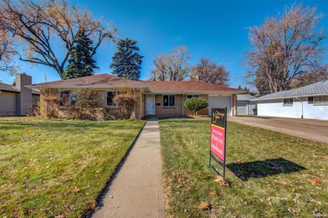 181 Niagara Street, Denver, CO 80220 (#4303224) :: Wisdom Real Estate