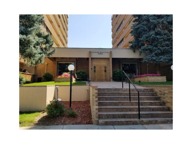 8060 E Girard Avenue #807, Denver, CO 80231 (MLS #4307401) :: 8z Real Estate