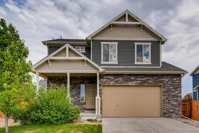 10628 Worchester Street, Commerce City, CO 80022 (#4307922) :: Briggs American Properties