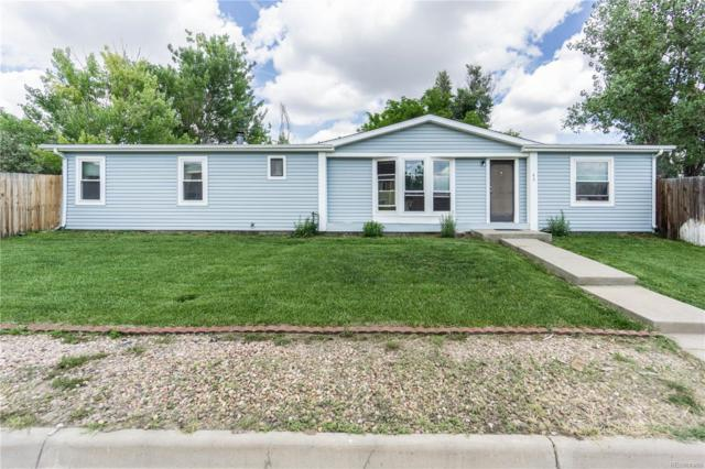 65 W Nelson Avenue, Keenesburg, CO 80643 (#4308646) :: James Crocker Team