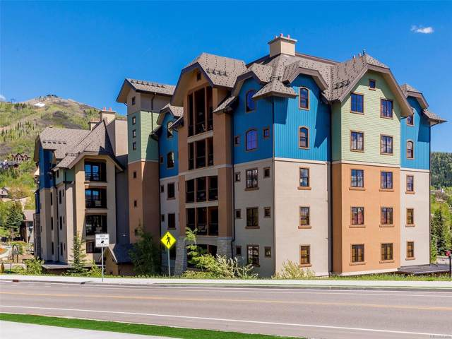 2525 Village Drive Unit 6C, Steamboat Springs, CO 80487 (MLS #4310061) :: 8z Real Estate