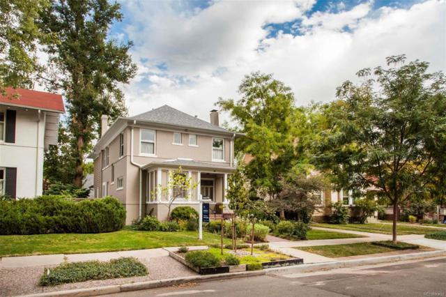 540 N Franklin Street, Denver, CO 80218 (#4314051) :: The Peak Properties Group
