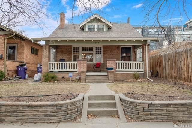 1465 N Monroe Street, Denver, CO 80206 (#4315787) :: Wisdom Real Estate